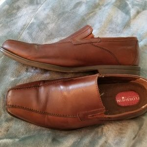 Brown Florsheim Leather Shoes